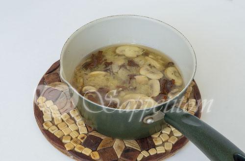 Грибной суп-пюре #шаг 6