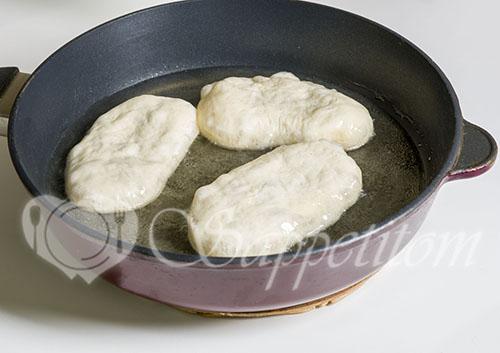 Тесто для жареных пирожков #шаг 12