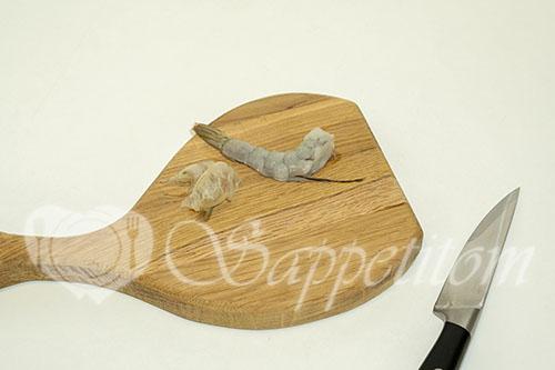 Креветки в панировке темпура #шаг 1