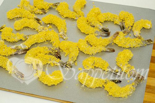 Креветки в панировке темпура #шаг 7