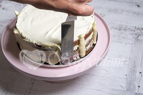 Черемуховый торт #шаг 26