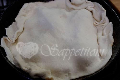Тарт Татен с грушами и яблоками в духовке #шаг 8