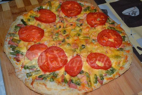 Пицца #шаг 12