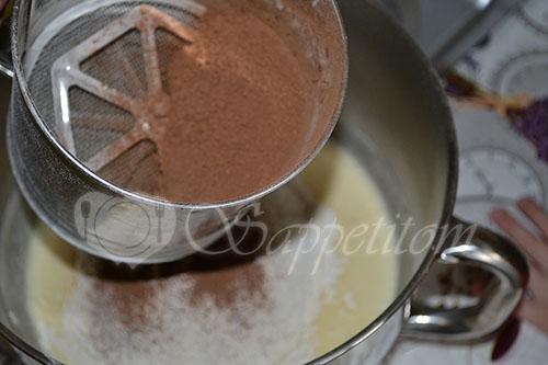 Шоколадный бисквит #шаг 6