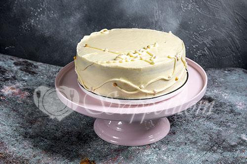 Черемуховый торт #шаг 28