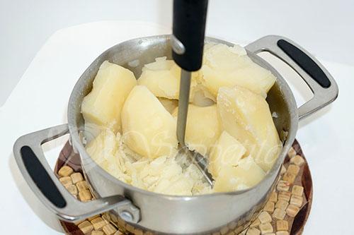 Картофельное пюре #шаг 5