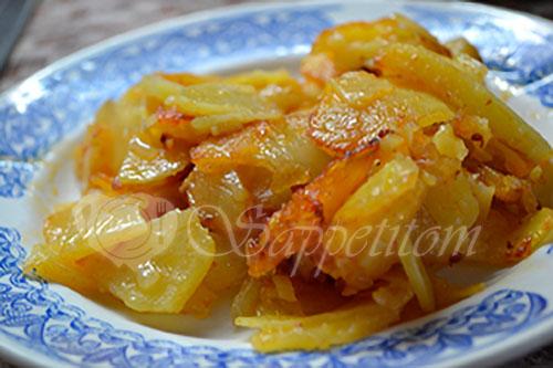 Жареная картошка #шаг 6