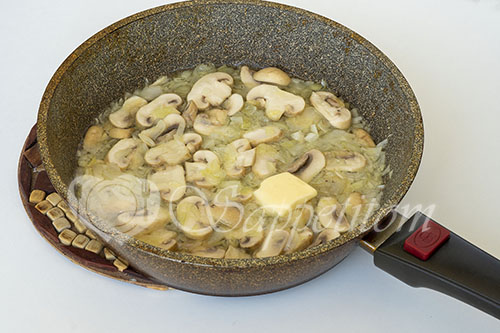 Грибной суп-пюре #шаг 5