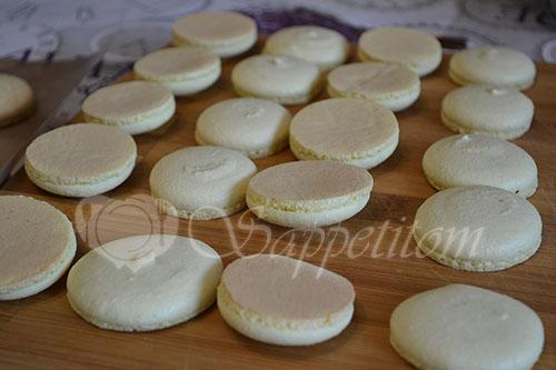 Пирожное Макарон (Macaron) манговый #шаг 21