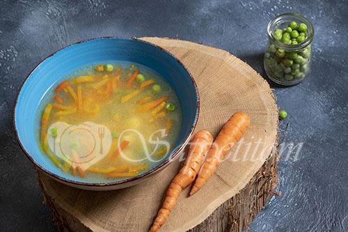 Овощной суп #шаг 7