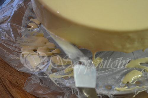 Муссовый торт манговый #шаг 38