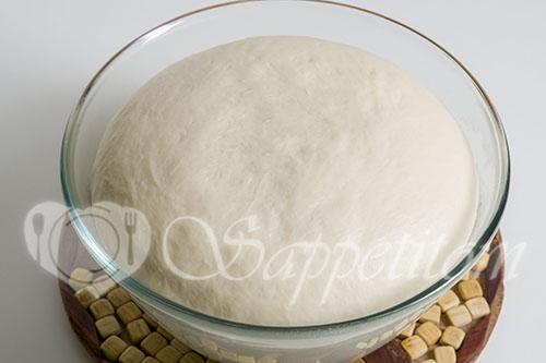 Тесто для жареных пирожков #шаг 4