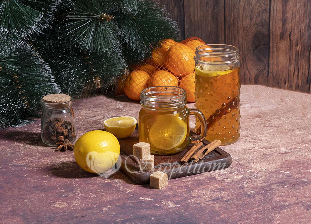 Яблочный глинтвейн безалкогольный