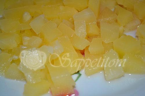 Салат курица с ананасом #шаг 3