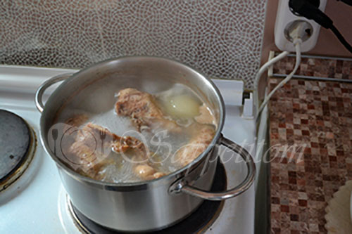 Куриный суп #шаг 1
