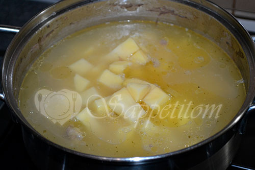 Гороховый суп #шаг 7