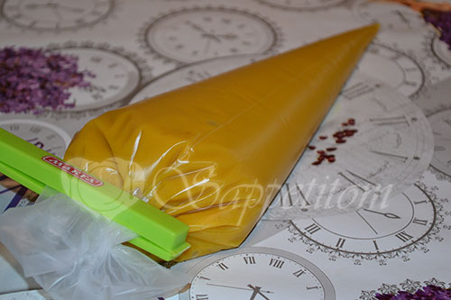 Пирожное Макарон (Macaron) манговый #шаг 5
