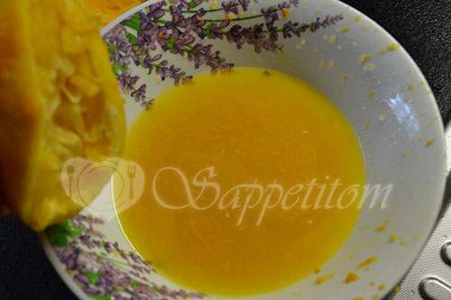 Курица в апельсиновом соусе в духовке #шаг 2
