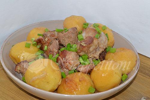Картошка с мясом по Сибирски #шаг 14