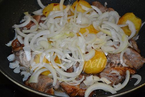Картошка с мясом по Сибирски #шаг 10