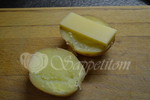 Запеченная картошечка с беконом #шаг 2