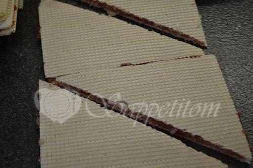 Простые чебуреки в вафлях #шаг 5