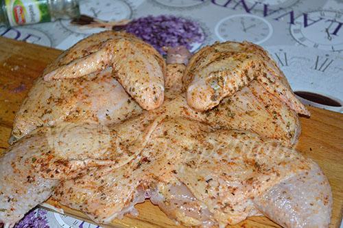 Цыпленок Табака (Тапака) #шаг 3