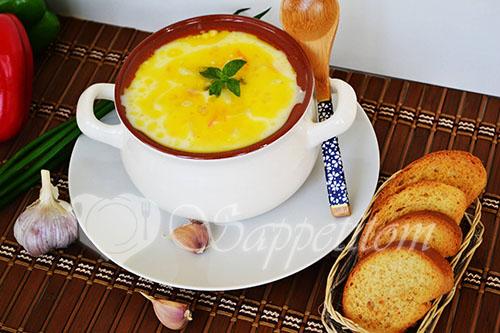 """Сырный суп с курицей """"По-французски"""""""