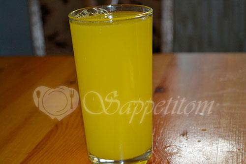 Домашний лимонад из апельсинов #шаг 7