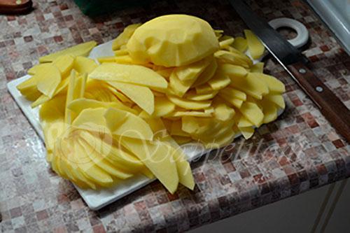 Жареная картошка #шаг 1