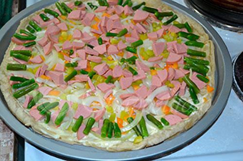 Пицца #шаг 7