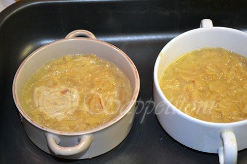 Французский луковый суп #шаг 9
