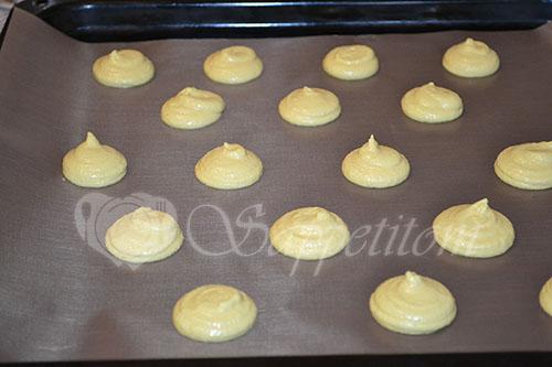 Пирожное Макарон (Macaron) манговый #шаг 17