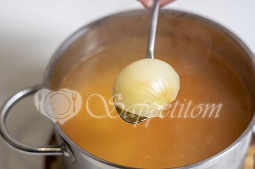 Суп на курином бульоне #шаг 7