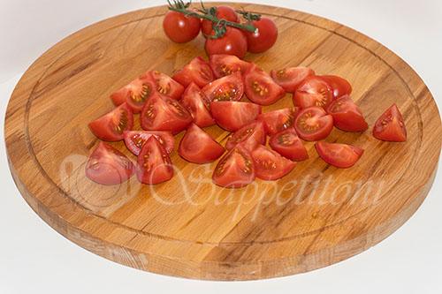 Курица с овощами на сковороде (чахобили) #шаг 3