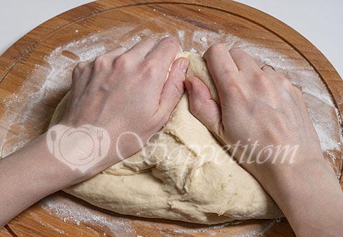 Пирожки с капустой в духовке #шаг 5