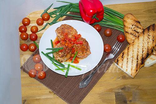 Фрикадельки в томатном соусе #шаг 14