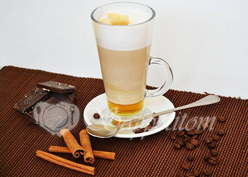 Кофе Латте с сиропом