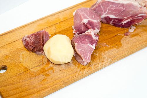 Картошка с мясом в духовке #шаг 4