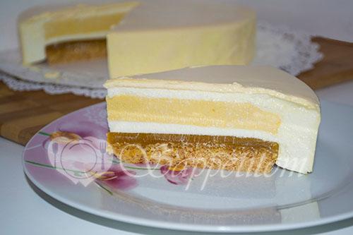 Муссовый торт манговый