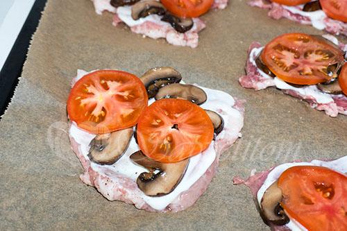 Мясо по-французски из свинины в духовке #шаг 9