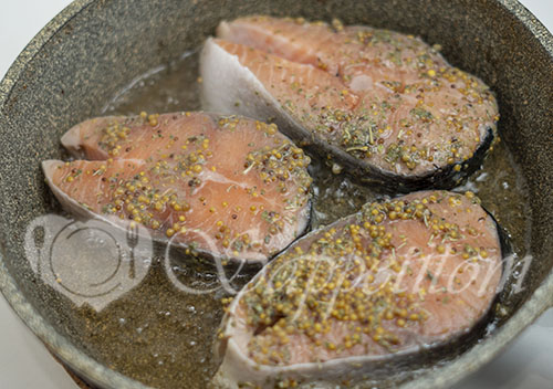 Сливочный лосось #шаг 11