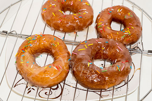 """Пончики дрожжевые """"Донатс"""" #шаг 18"""