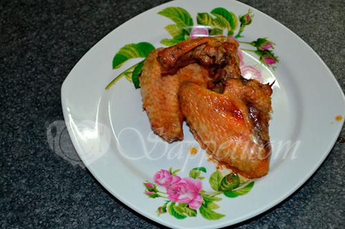 Куриные крылышки маринованные #шаг 8