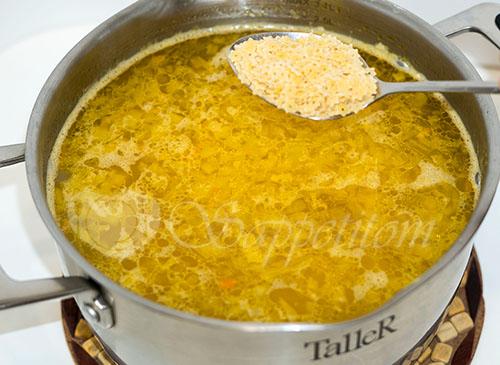 Куриный суп с вермишелью и картошкой #шаг 7