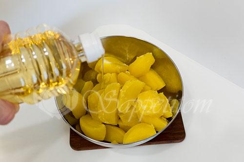Золотистый картофель #шаг 3