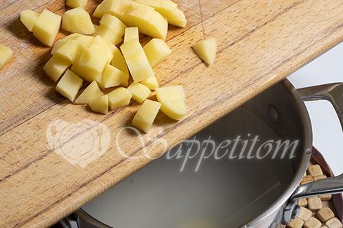 Овощной суп #шаг 3