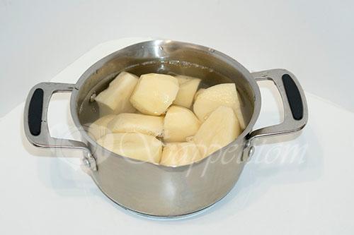 Картофельное пюре #шаг 1