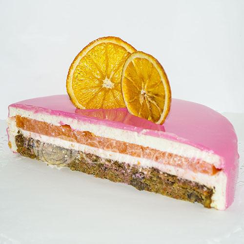 Муссовый торт морковный