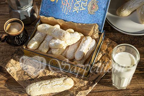 Домашнее печенье Савоярди